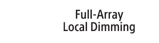 Logo Full Array Local Dimming
