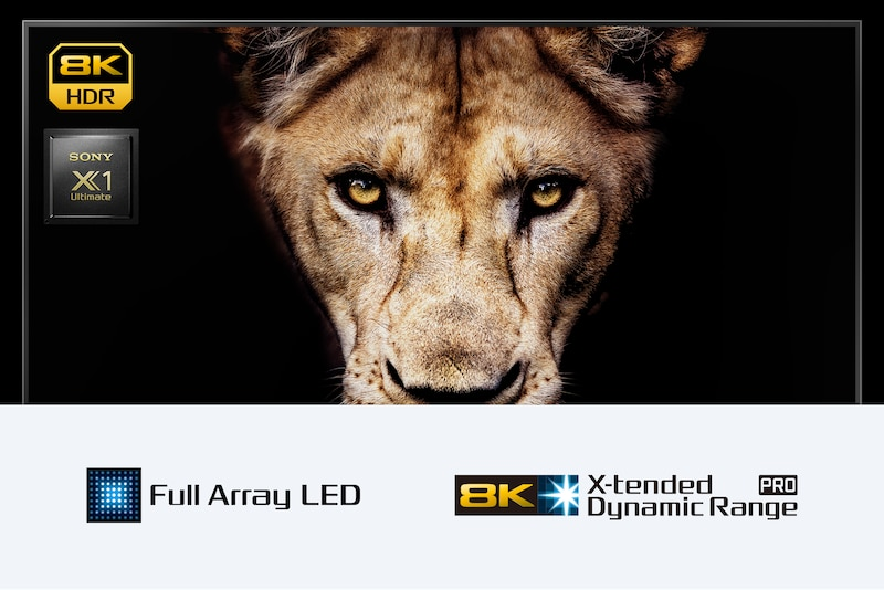 Smart TV Android 8K serie ZH8 | Sony IT