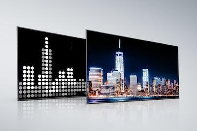Schermo e pannello posteriore Full Array LED di Sony con X-tended Dynamic Range PRO