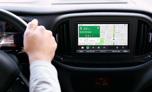 Navigazione con Android Auto