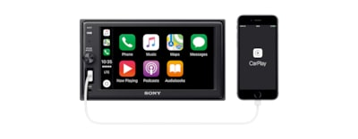 "Immagini di Ricevitore multimediale da 15,7 cm (6,2"") con Apple CarPlay e BLUETOOTH®"