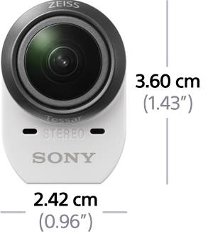 Immagine di HDR AZ1 Action Cam Mini con Wi-Fi®