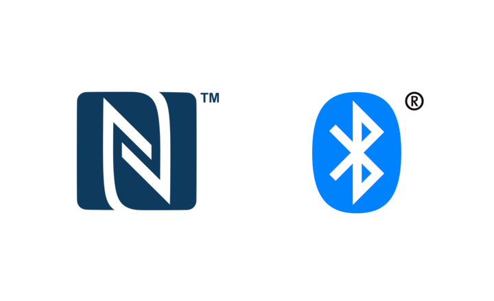 Logo NFC e BLUETOOTH®