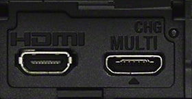 HDMI® e multiterminale