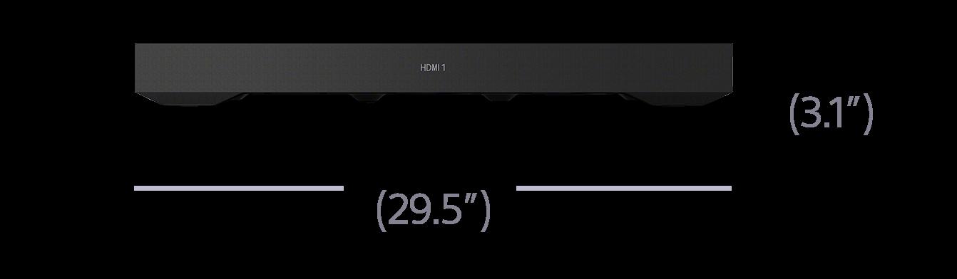 Specifiche HT-XT3 | Soundbar | Sony IT