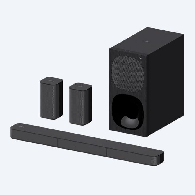 Nero NFC Bluetooth 170 W Sony HT-XT2 Soundbase Multiroom 2.1 Canali con Subwoofer Integrato USB