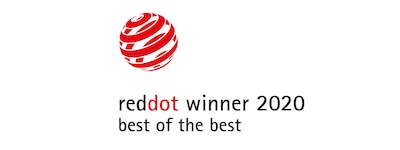 Logo vincitore Red Dot 2020