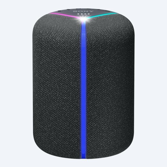 Altoparlante Portatile Bluetooth Mini LED diffusore Compatto Dimensioni in Metallo Senza Fili con Microfono Incorporato woofer Bianco