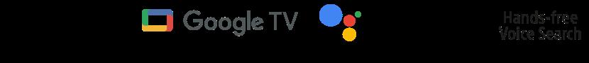Logotipi Google TV, Ok Google in prostoročno iskanje