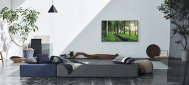 """Scenska slika v dnevni sobi, ki ponazarja stilski koncept """"Living Decor"""""""