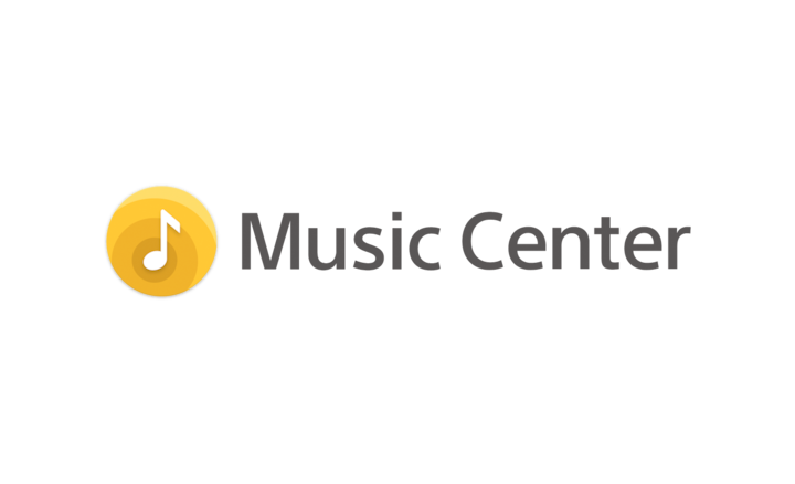 Logo Sony | Music Center.