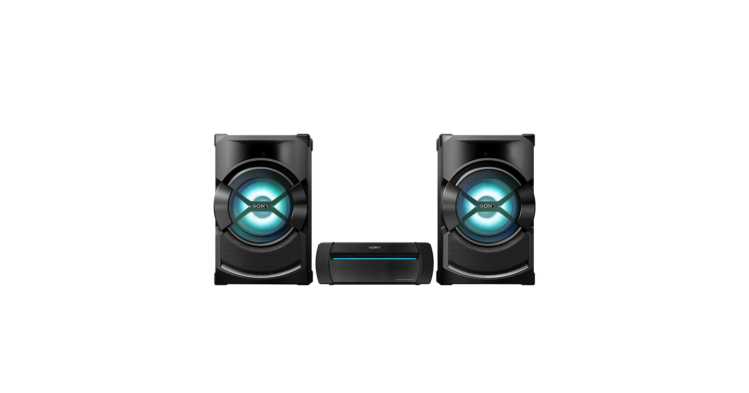 Sistema audio wireless per la casa con bluetooth shake x3d sony it - Sistemi audio casa ...