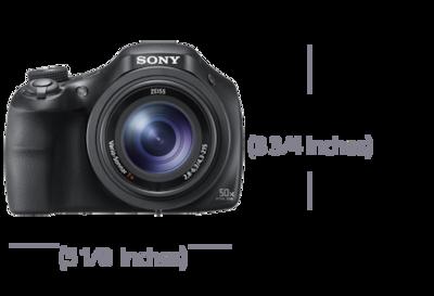 Immagine di HX400V Fotocamera compatta con zoom ottico 50x