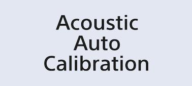 Logotip za samodejno kalibracijo zvoka