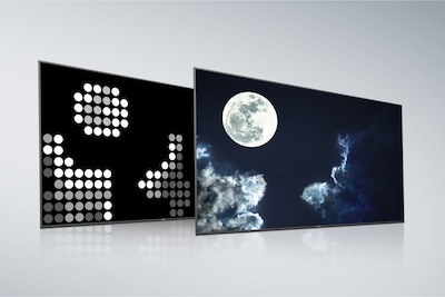 Schermo e pannello posteriore Full Array LED di Sony con X-tended Dynamic Range PRO