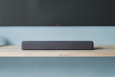 Soundbar BLUETOOTH di Sony su un ripiano