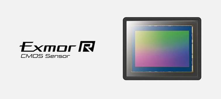 Immagine del sensore CMOS Exmor R full-frame