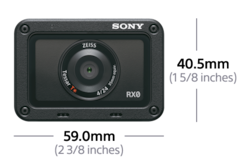 Immagine di RX0 Fotocamera digitale waterproof ultracompatta e a prova di urti