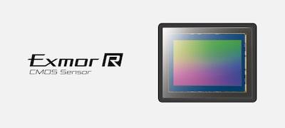Sensore CMOS Exmor R full frame da 42,4 MP
