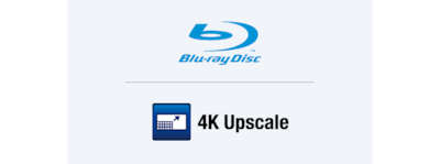 Upscaling 4K HDR e lettore Blu-ray Disc™